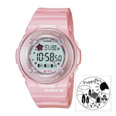 Baby-G 腕時計 ライトブルー BG-1300PP-2