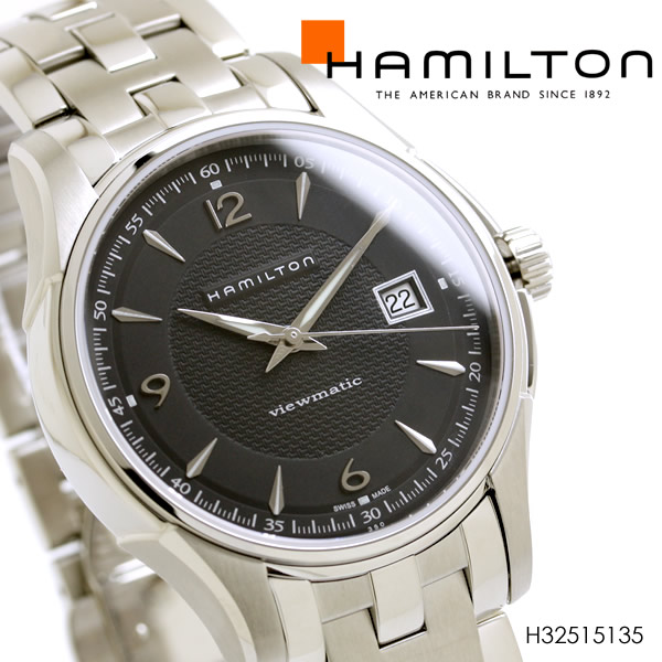 ハミルトン メンズ 腕時計 H32515135 ジャズマスター ヴューマチック 自動巻き HAMILTON