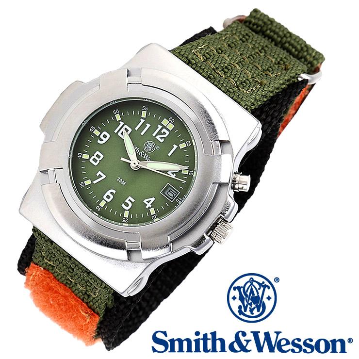 [送料無料] [正規品] スミス&ウェッソン Smith & Wesson ミリタリー腕時計 LAWMAN WATCH SWW-11-OD OLIVE DRAB