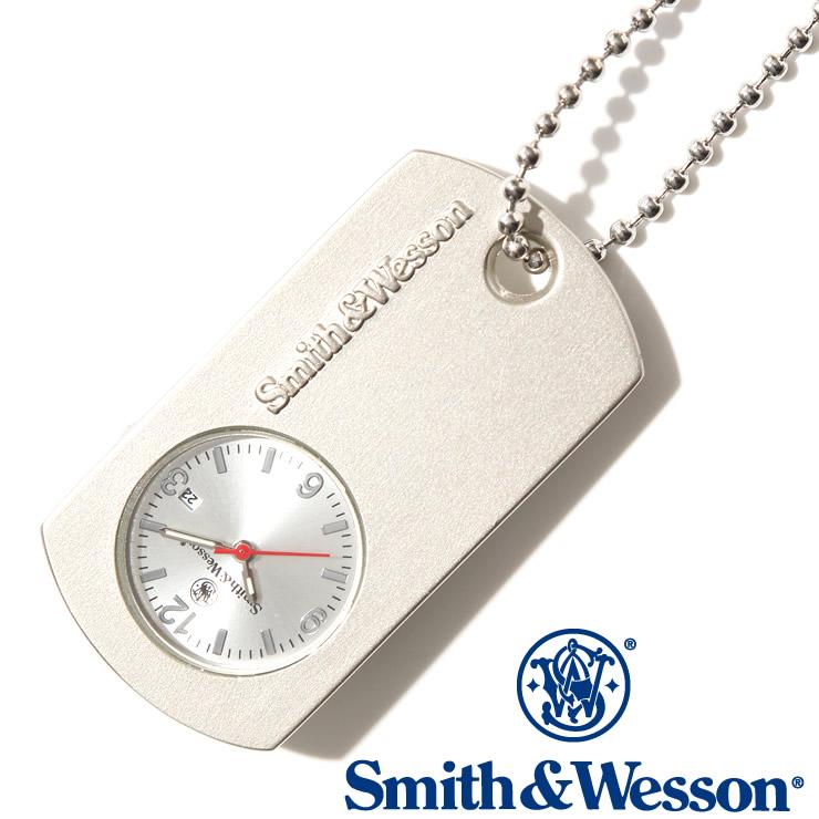 [送料無料] [正規品] スミス&ウェッソン Smith & Wesson ミリタリー 時計 DOG TAG WATCH BLACK SWW-1564-SLV [あす楽] [ラッピング無料]