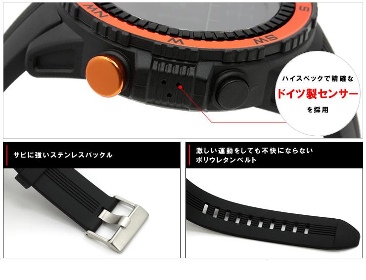 ラドウェザー センサーマスター アウトドア 腕時計 メンズ レディース