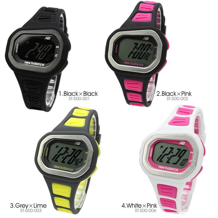 newbalanceニューバランスデジタルスポーツウォッチユニセックス腕時計st-500-00