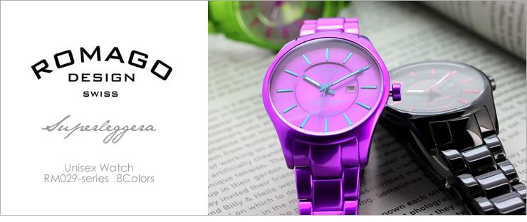 ロマゴROMAGO腕時計ユニセックス