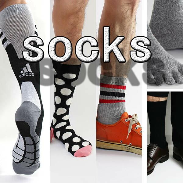 メンズソックス(靴下)各種、5本指、スニーカー、ビジネス、カジュアル くつした