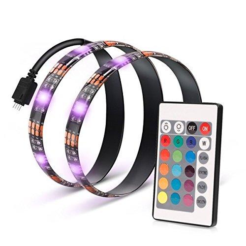 USB接続 LEDテープライト 50cm 2本セット インテリア 間接照明 STOROBETV[メール便発送、送料無料、代引不可] 02P03Dec16 [照明]