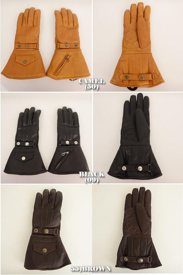メンズ Schott ショット 3109056[ro]グローブ 手袋 WINTER GLOVE LONG ウィンターグローブ ロング の画像6
