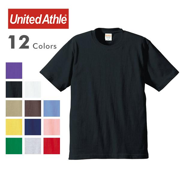 United Athle ユナイテッドアスレ 5942-01 6.0オンス プレミアム Tシャツ 無地 半袖 の画像1