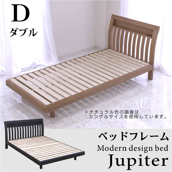 ダブルベッドすのこベッド