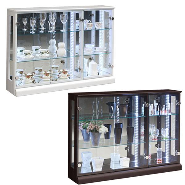数量限定 コレクションケース コレクションボード キュリオケース フィギュアケース コレクションラック ショーケース ガラスショーケース 飾り棚  ロータイプ 送料無料  通販