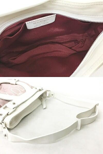 b69a0d0a4759 サルヴァトーレフェラガモ Salvatore Ferragamo ガンチーニ ハンドバッグ ...