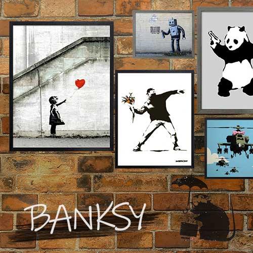 バンクシー