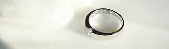 一粒ダイヤ リング 指輪 プラチナ