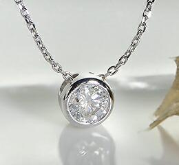 【楽天市場】K18WG/YG/PG 0.1ct フクリン留め 一粒 ダイヤ