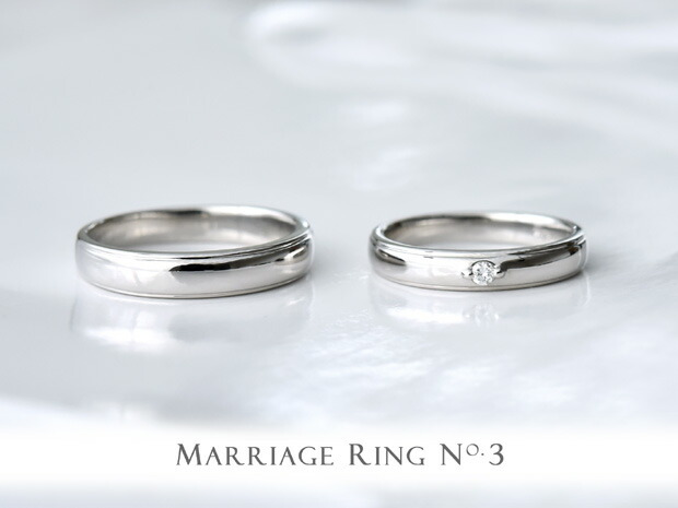 マリッジリング ペア K18 ゴールド NO.1 ペアリング 結婚指輪