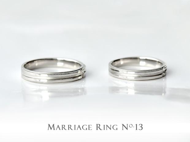 マリッジリング ペア K18 ゴールド NO.10 ペアリング 結婚指輪
