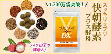 快朝酵素プラス酵母DX(124粒)