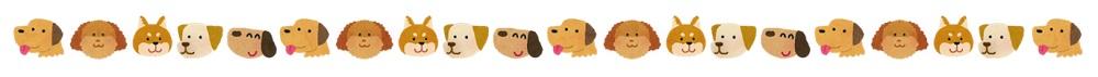 犬のライン画像