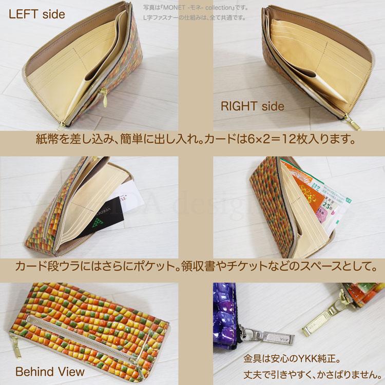 フーシ フェルナーレの財布の中の構造