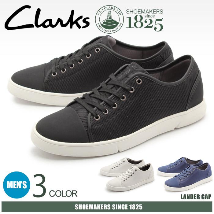 1a75c6a07e 送料無料 クラークス CLARKS スニーカー ランダーキャップ 全3色(CLARKS 26124232 26124228 26124226  LANDER CAP)メンズ MEN!