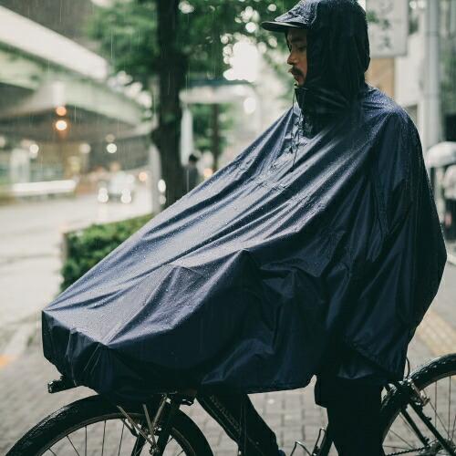 FAIRWEATHER フェアウェザー packable rain poncho 画像1
