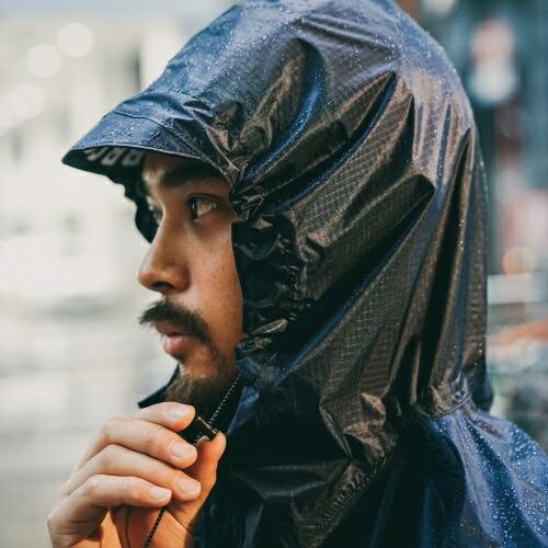 FAIRWEATHER フェアウェザー packable rain poncho 画像2