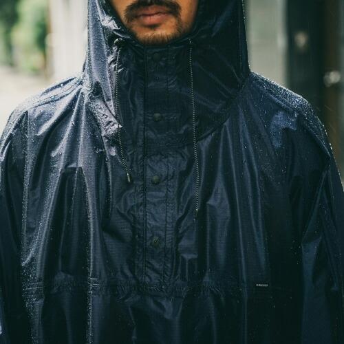 FAIRWEATHER フェアウェザー packable rain poncho 画像3