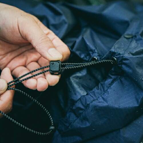 FAIRWEATHER フェアウェザー packable rain poncho 画像7
