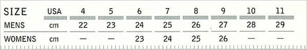kamik カミック サイズ表