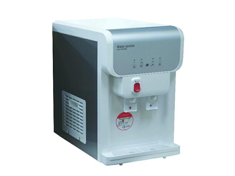 水道直結型浄水器内蔵ウォーターサーバー卓上型 SD19 ホワイト