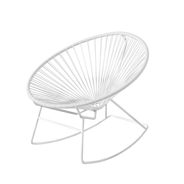 【特別カラー】アカプルコ ロッキング チェア マキシマム ホワイト Acapulco Rockimg Chair METROCS メトロクス
