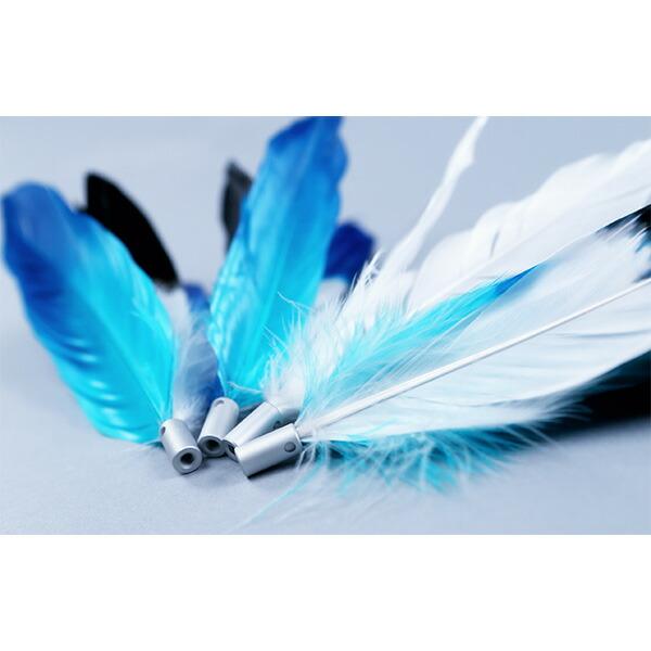 pidan Feather Refill 猫じゃらし 専用パーツ 付け替え用 の 羽根 3個 セット Cat Teaser Accessories