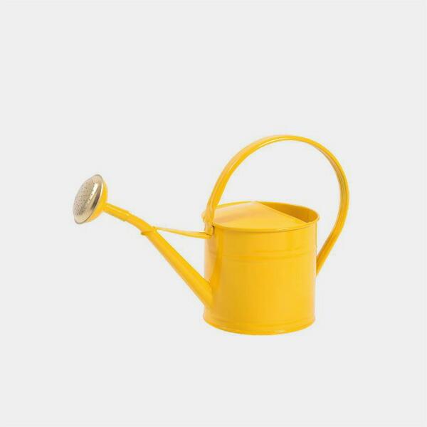 ブリキウォータリングカン,ジョーロ,1.5L,カラー