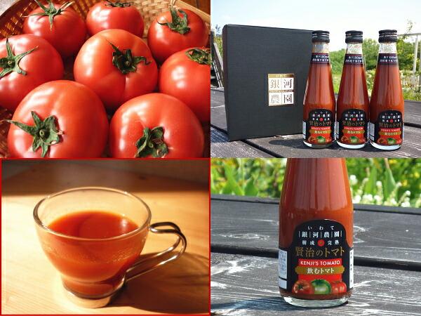 銀河農園 トマトジュース 食塩無添加  飲むトマト 無塩 国産 ストレート 野菜ジュース 100% トマトジュース カゴメ デルモンテ プレミアム 理想のトマト 無添加 ギフト 復興支援