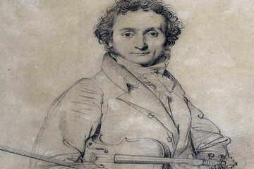 Niccolò Paganini(1782–1840)  ニコロ・パガニーニ