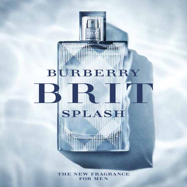 44a548b23e45 viporte: Burberry Brit splash EDT Eau de toilette SP 100 ml BURBERRY ...