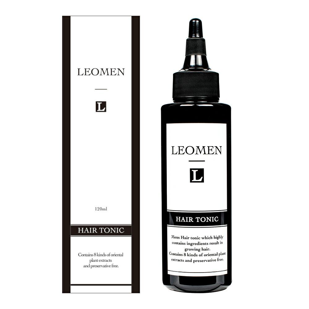 育毛剤 120g LEOMEN [約1か月] 男性用 メンズ ヘアトニック