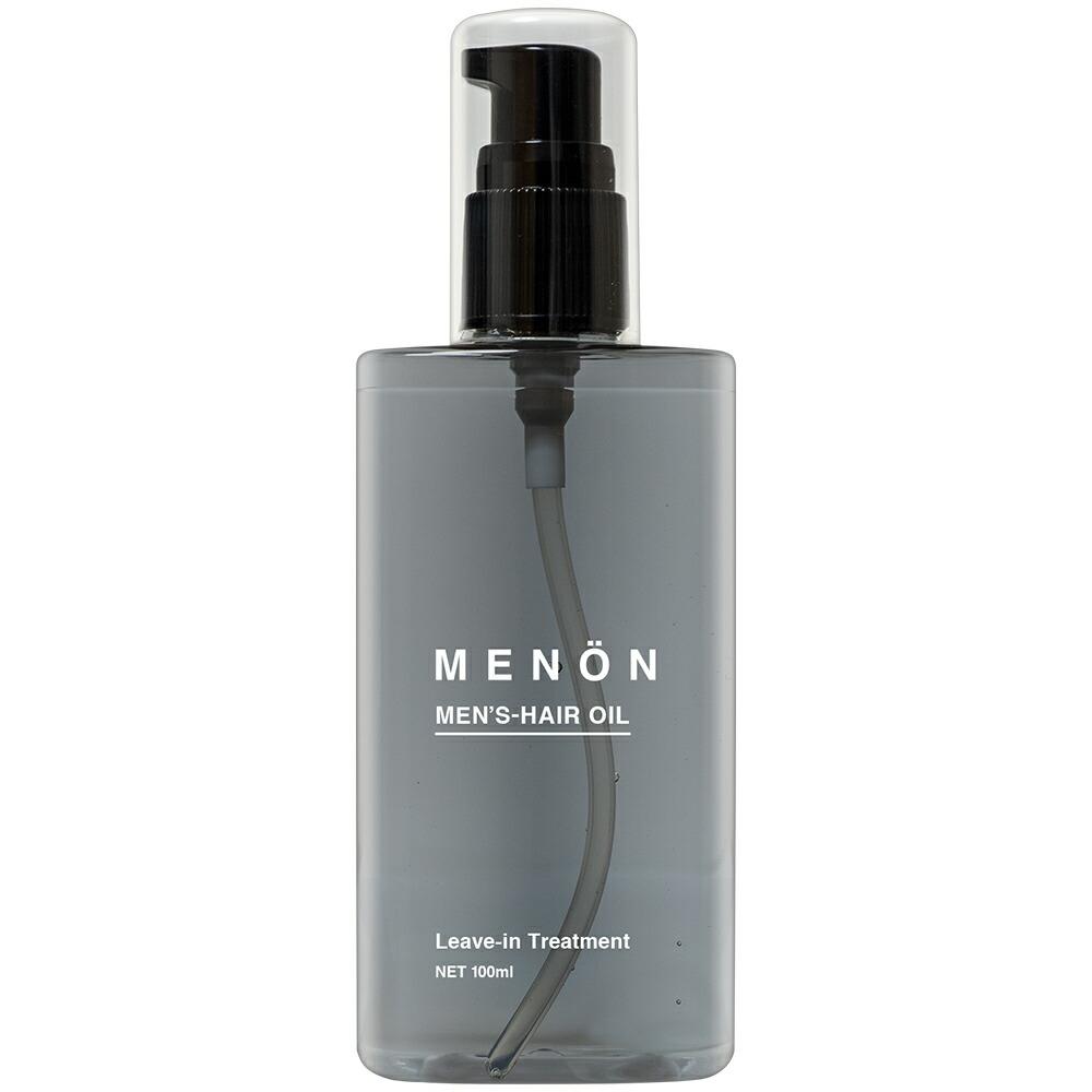 ヘアオイル 洗い流さない メンズ MENON 100mL 洗い流さない トリートメント
