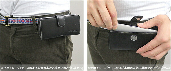 PDAIR レザーケース for Galaxy A30 SCV43 ポーチタイプ