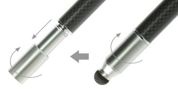 MetaMoJi 軽量スタイラスペン Su-Pen P201S-T9C(ブラック) for iPad/iPhone用タッチペン