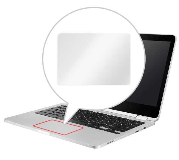 OverLay Protector for トラックパッド ASUS Chromebook C302CA