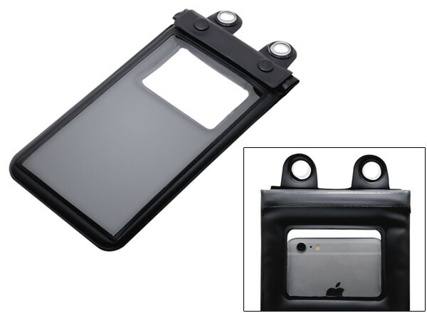 ミヨシ 防水ケース for iPhone 6/iPhone 6 Plus