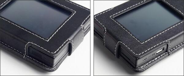 PDAIR レザーケース for Aterm MR04LN スリーブタイプ