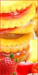 甘酸っぱくて香ばしい、みんな大好きジャムサンドクッキー!