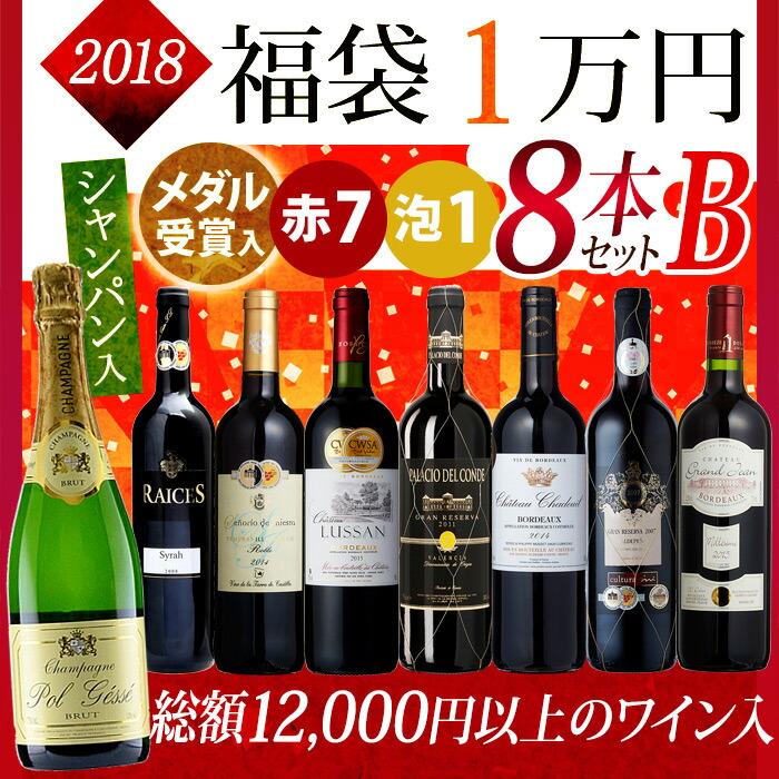 2018年 福袋 (1万円)8本セットB