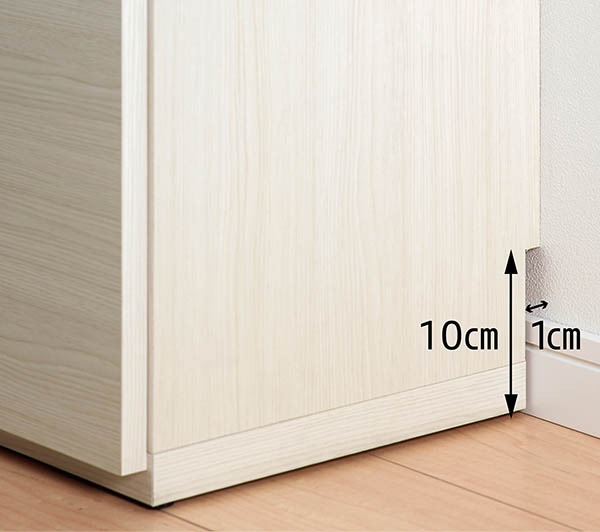 ローキャビネット ブラウン色 幅150.5 奥行31.0 高さ84.0 木目柄 木製 薄型 カウンター下収納 キャビネット ナチュラル シンプル 北欧テイスト デザイン フナモコ LBD-150 家具 収納家具 インテリア 日本製 送料無料 viventie ヴィヴェンティエ