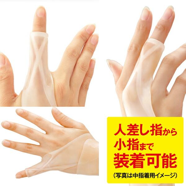 指 中指 ばね テーピング