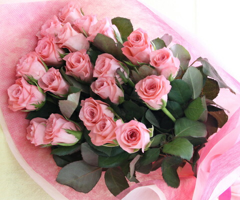 バラの花束【本数を指定できます(10本〜)】