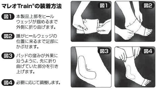 マレオTrain装着方法