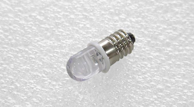 Size E10 White Miniature Clasp Led Bulb 3v ChxdtsrBQo