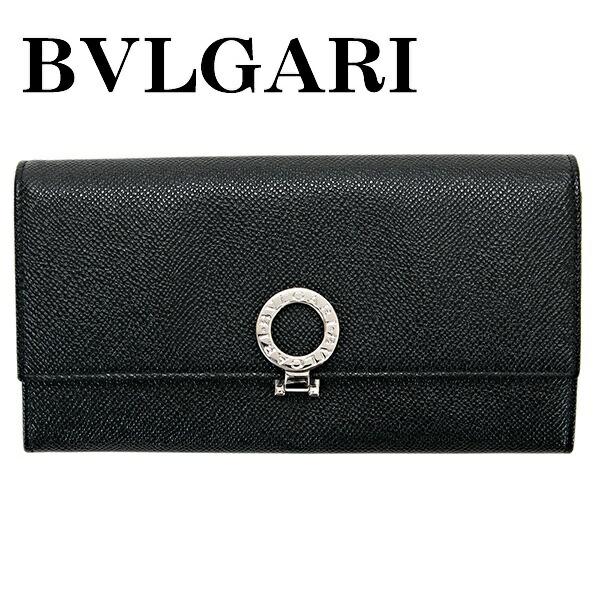 ブルガリ BVLGARI 財布 長財布 メンズ レディース BULGARI BULGARI ブルガリ ブルガリ ブラック 30414